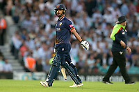 Ryan ten Doeschate of Essex leaves the field having been dismissed for 10 during Surrey vs Essex Eagles, Vitality Blast T20 Cricket at the Kia Oval on 12th July 2018