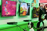SÃO PAULO,SP, 13.10.2018 - BGS-SP - Movimentação durante a Brasil Game Show, a maior feira de games da América Latina, que acontece entre os dias 10 e 14 de outubro no Expo Center Norte em São Paulo, neste sábado, 13. (Foto: Paulo Guereta/ Brazil Photo Press)