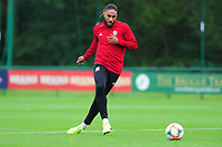 Ashley Williams of Wales during the Wales Training Session at The Vale Resort in Cardiff, Wales, UK. Monday 07 October 2019