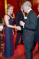 09 March 2016 - London, England - Prince Charles Prince of Wales meets Miranda Raison during a gala concert marking the 10th anniversary of the Children and the Arts charity at St James's Palace, London. Photo Credit: ALPR/AdMedia
