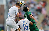 Chester, PA - Monday May 28, 2018: Walker Zimmerman during an international friendly match between the men's national teams of the United States (USA) and Bolivia (BOL) at Talen Energy Stadium.
