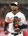 Baltimore Orioles Jonathan Schoop (6) during a game against the Toronto Blue Jays on April 5, 2017 at Oriole Park at Camden Yards in Baltimore, MD. The Orioles beat the Blue Jays 3-1.