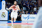 Real Madrid's player Sergio Rodriguez during the third match of the Liga Endesa Playoff at Barclaycard Center in Madrid. May 31. 2016. (ALTERPHOTOS/Borja B.Hojas)