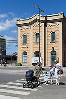 Bahnhof von Kristianstad, Provinz Skåne (Schonen), Schweden, Europa<br /> Station in Kristianstad, Province Skåne, Sweden
