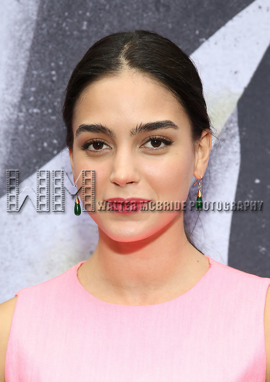 """Melissa Barrera attends the Broadway Opening Night Performance for """"Beetlejuice"""" at The Wintergarden on April 25, 2019  in New York City."""