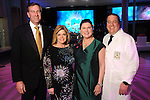 From left: Chairs John Weinzierl, Kelli Weinzierl, Shawn Stephens and Jim Jordan at the Big Bang Ball at the Houston Museum of Natural Science Saturday March  04,2017. (Dave Rossman Photo)