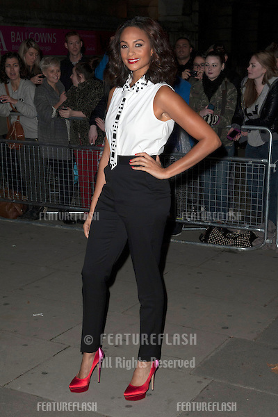 Alesha Dixon arriving for the Cosmopolitan Ultimate Women of the Year Awards , Victoria & Albert Museum, London. 30/10/2012 Picture by: Simon Burchell / Featureflash