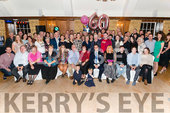 Eithne Wallpole from Muckross, Killarney celebrated her 60th birthday surrounded by friends and family in the Muckross Park Hotel, Killarney last Saturday night.