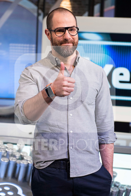 Alberto Rey during the presentation of the new TV program to Movistar+,  &quot; Likes &quot; at 7 y accion studios in Madrid. January 27, 2016.<br /> (ALTERPHOTOS/BorjaB.Hojas)