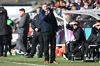 Yeovil manager Jamie Sherwood during Arsenal Women vs Yeovil Town Ladies, FA Women's Super League FA WSL1 Football at Meadow Park on 11th February 2018