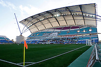 View of Algarve Stadium during Algarve Women's Cup soccer match at Algarve stadium in Faro, March 13, 2013.  .