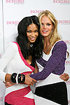 "Chanel Iman and Erin Heatherton during the ""Incredible by Victoria's Secret"" launch at the Victoria Secret SOHO Store, August 10, 2010."