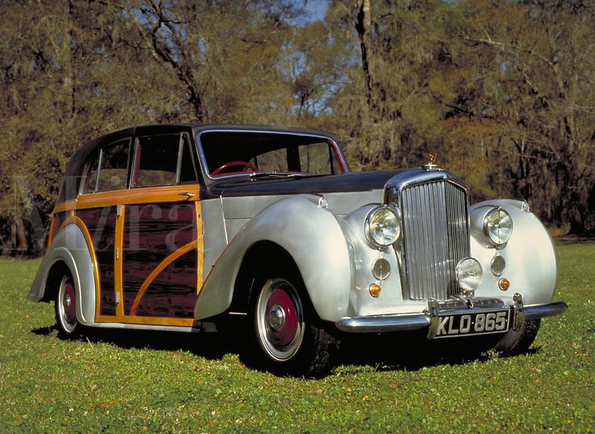 1948 Bentley; classic auto. vintage car. antique, cars.