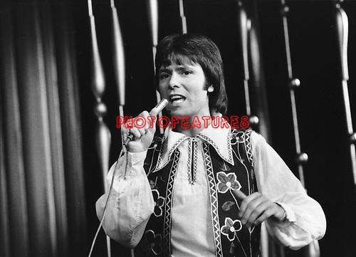 Cliff Richard 1973 Royal Variety Show 26th November 1973<br /> &copy; Chris Walter