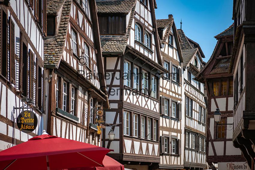 France, Alsace, Department Bas-Rhin, Strasbourg: Tanner's Quarter - La Petite France | Frankreich, Elsass, Départements Bas-Rhin, Strassburg: das Gerberviertel, La Petite France - Klein Frankreich
