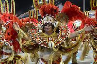 SAO PAULO, SP, 19 DE FEVEREIRO 2012 - CARNAVAL SP - MOCIDADE ALEGRE - Desfile da escola de samba Mocidade Alegre na segunda noite do Carnaval 2012 de São Paulo, no Sambódromo do Anhembi, na zona norte da cidade, neste domingo.(FOTO: ADRIANO LIMA  - BRAZIL PHOTO PRESS).