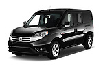 2015 Ram Promaster City SLT 5 Door Mini Mpv Angular Front stock photos of front three quarter view
