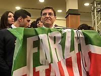 Nicola Cosentino durante la manifestazione di Forza Campania, corrente locale di Forza Italia, alla stazione marittima di Napoli