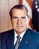 Portrait of the 37th President of the United States, Richard Milhous Nixon, taken in Washington, D.C. on June 1, 1972.<br /> Credit: White House via CNP