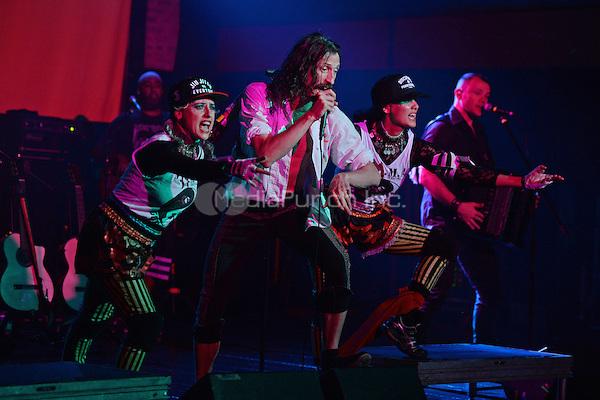 FORT LAUDERDALE FL - JUNE 10: Eugene Hutz of Gogol Bordello performs at Revolution on June 10, 2016 in Fort Lauderdale, Florida. Credit: mpi04/MediaPunch