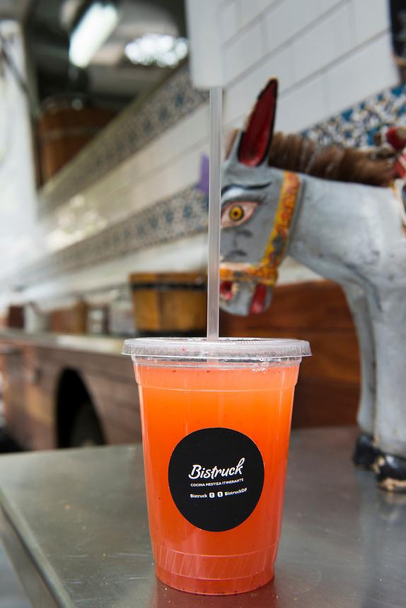 Bistruck. Foodtruck, streetfood, Mexico City