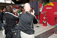 Philadelphia, PA. - January 16, 2015:  FIFA Press Conference during the NSCAA Convention, at the Pennsylvania Convention Center.