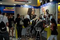 SAO PAULO, SP, 24 DE AGOSTO 2012 - FEIRA DO ESTUDANTE - Abertura da Feira do Estudante organizada pelo Guia do Estudante no que vai do dia 24 a 16 de agosto no Expo Center Norte na regiao norte da capital paulista. FOTO: AMAURI NENH - BRAZIL PHOTO PRESS.