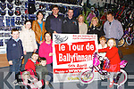 Kerry manager Eamon Fitzmaurice launched le Tour de Ballyfinnane which will be held on April 5th in O'Sullivan Cycles Killarney on Tuesday front row l-r: Clodagh, Conor and Shane Edwards,Adah MacEnttee, Ciara Keenan, Eimear Corbett. Back row: Eoin and Laura Corbett, Marie Edwards, Eamon Fitzmaurice, John Edwards, Joan Corbett, Claire Foley and David O'Sullivan