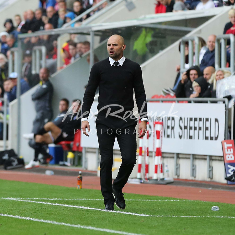 Rotherham United VS Bury, New York Stadium Rotherham, Saturday 9th September 2017 <br /> <br /> <br /> Picture - Alex Roebuck / www.alexroebuck.co.uk