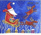 Kate, CHRISTMAS SANTA, SNOWMAN, WEIHNACHTSMÄNNER, SCHNEEMÄNNER, PAPÁ NOEL, MUÑECOS DE NIEVE, paintings+++++Christmas page 61 1,GBKM182,#x#