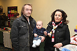 Neil, Nelson and Karen Myles at the Christmas Craft Fair in The Boyne Valley Hotel...(Photo credit should read Jenny Matthews www.newsfile.ie)....This Picture has been sent you under the conditions enclosed by:.Newsfile Ltd..The Studio,.Millmount Abbey,.Drogheda,.Co Meath..Ireland..Tel: +353(0)41-9871240.Fax: +353(0)41-9871260.GSM: +353(0)86-2500958.email: pictures@newsfile.ie.www.newsfile.ie.