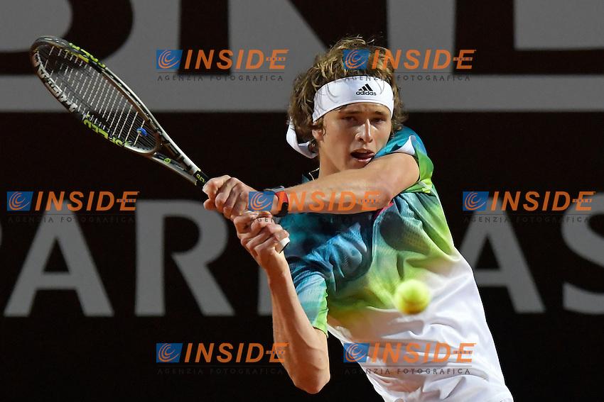 Alexander Zverev (GER)<br /> Roma 9-05-2016  Foro Italico<br /> Internazionali BNL d'Italia, <br /> Tennis ATP<br /> Foto Antonietta Baldassarre / Insidefoto