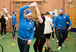 St Johnstone players took some festive cheer to Fairview School in Perth gving out selection boxes and gifts to the pupils&hellip;Paul Paton dancing with secondary school pupil Holly<br />