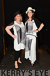"Mary O'Donnell and Joan Marie Hennessy.Clothing supplied by Annburys Central Plaza Tralee at the ""Fashion Fusion"" in aid of Duggan Family House fire Appeal in the Fels Point Hotel on Saturday"