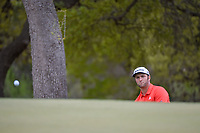 Jon Rahm (ESP) chips on to 6 during day 3 of the World Golf Championships, Dell Match Play, Austin Country Club, Austin, Texas. 3/23/2018.<br /> Picture: Golffile | Ken Murray<br /> <br /> <br /> All photo usage must carry mandatory copyright credit (&copy; Golffile | Ken Murray)