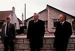 REVEREND IAN PAISLEY, Ian Paisley, the Troubles Northern Ireland 1981<br />  1980s Ian Paisley Orange Day Parade, Ballymoney Northern Ireland, 1981. 1980s UK.
