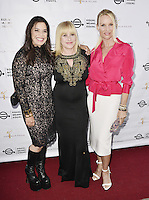 "BEVERLY HILLS, CA - AUGUST 26: Kamala Lopez, Patricia Arquette and Nicolette Sheridan attend the ""Equal Means Equal"" Special Screening at the Music Hall on August 20, 2016 in Beverly Hills, CA. Koi Sojer, Snap'N U Photos / MediaPunch"