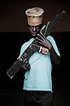 Séraphin. 14 ans. 1 an passé dans les groupes armés. Bukavu, RDC, juillet 2013.