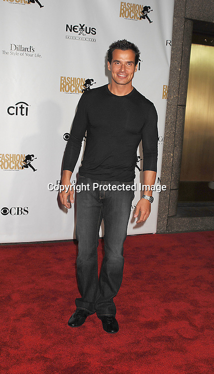 Antonio Sabato, Jr ..arriving for The Fourth Annual Fashion Rocks concert presented by Conde Nast Media Group on ..September 6, 2007 at Radio City Music Hall. ..Photo by Robin Platzer, Twin Images....212-935-0770