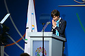 Christel Takigawa, <br /> SEPTEMBER 7, 2013 : <br /> Ambassador of the Tokyo 2020 Bib Committee Christel Takigawa speaks during the 2020 Summer Olympic Games bid fianl presentation during the 125th International Olympic Committee (IOC) session in Buenos Aires Argentina, on Saturday September 7, 2013. <br /> (Photo by YUTAKA/AFLO SPORT) [1040]