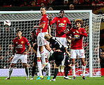 Hryhoriy Yarmash of FC Zorya Luhansk takes a free kick during the UEFA Europa League match at Old Trafford Stadium, Manchester. Picture date: September 29th, 2016. Pic Matt McNulty/Sportimage