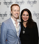 Cody Lassen and Joanna Topetzes attends the Opening Night Performance of 'The Beast In The Jungle' at The Vineyard Theatre on May 23, 2018 in New York City.