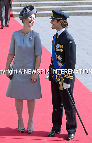 """PRINCESS MARTHA LOUISE OF NORWAY AND PRINCE CARL PHILIP OF SWEDEN.Religious Wedding Ceremony of HRH the Hereditary Grand Duke and Countess Stéphanie de Lannoy at Cathedral of Our lady of Luxembourg, Luxembourg_20-10-2012.Mandatory credit photo: ©Dias/NEWSPIX INTERNATIONAL..(Failure to credit will incur a surcharge of 100% of reproduction fees)..                **ALL FEES PAYABLE TO: """"NEWSPIX INTERNATIONAL""""**..IMMEDIATE CONFIRMATION OF USAGE REQUIRED:.Newspix International, 31 Chinnery Hill, Bishop's Stortford, ENGLAND CM23 3PS.Tel:+441279 324672  ; Fax: +441279656877.Mobile:  07775681153.e-mail: info@newspixinternational.co.uk"""