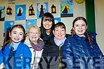 Presentation Primary school, Tralee, Grandparents day last Tuesday, Feb 11, at the school, were l-R Caoimhe, Eileen&Sabrina Kirwan, Maureen O'Brien and Kayla Kirwan.