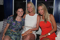 Marge Sinks, Shannon Huntington and Jennifer Declark attend The Friends of Finn by the Shore party at Finale East on Aug. 2, 2014 (Photo by Taylor Donohue/Guest of a Guest)