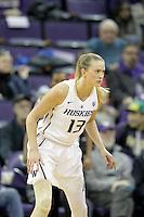 SEATTLE, WA - DECEMBER 18: Washington's Katie Collier against Savannah State.  Washington won 87-36 over Savannah State at Alaska Airlines Arena in Seattle, WA.