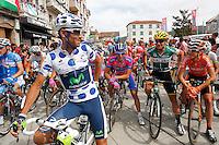 Alejandro Valverde during the stage of La Vuelta 2012 between Ponteareas and Sanxenxo.August 28,2012. (ALTERPHOTOS/Paola Otero) /NortePhoto.com<br /> <br /> **CREDITO*OBLIGATORIO** <br /> *No*Venta*A*Terceros*<br /> *No*Sale*So*third*<br /> *** No*Se*Permite*Hacer*Archivo**<br /> *No*Sale*So*third*