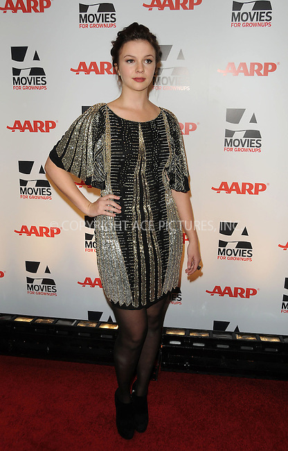 WWW.ACEPIXS.COM . . . . . ....February 7 2011, LA....Actress Amber Tamblyn arriving at the AARP Magazine 10th Annual Movies For Grownups Awards at the Beverly Wilshire Four Seasons Hotel on February 7, 2011 in Beverly Hills, CA....Please byline: PETER WEST - ACEPIXS.COM....Ace Pictures, Inc:  ..(212) 243-8787 or (646) 679 0430..e-mail: picturedesk@acepixs.com..web: http://www.acepixs.com
