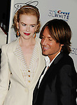 LOS ANGELES {CA} - JANUARY 12: Nicole Kidman and Keith Urban attend the Gold Meets Gold Event, held at the Equinox Sports Club Flagship West Los Angeles location on Saturday, January 12, 2013 in Los Angeles, California.