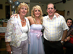 Jennifer O'Hare with her parents Barbara and Jim at her 21st in the Rugby Club...Photo NEWSFILE/Jenny Matthews.(Photo credit should read Jenny Matthews/NEWSFILE)....This Picture has been sent you under the condtions enclosed by:.Newsfile Ltd..The Studio,.Millmount Abbey,.Drogheda,.Co Meath..Ireland..Tel: +353(0)41-9871240.Fax: +353(0)41-9871260.GSM: +353(0)86-2500958.email: pictures@newsfile.ie.www.newsfile.ie.FTP: 193.120.102.198.